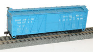 Accurail HO Scale Kit 40' Single-Sheathed Wood Box Car Southern Pacific/SP 27318