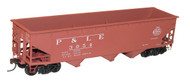Accurail HO Scale Kit AAR 70-Ton 3-Bay Hopper Pittsburgh & Lake Erie/P&LE #3054