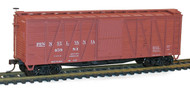 Accurail HO Scale Kit 40' Single-Sheathed Wood Box Car Pennsylvania/PRR #45983