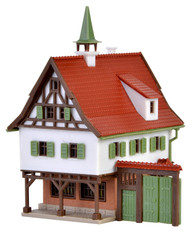 Vollmer Z Scale Building/Structure Kit Small City Hall/Downtown Office Building
