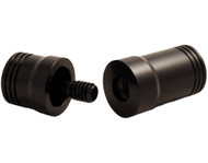 Pro Series JPA-18 Threaded Aluminum 5/16 x 18 Joint Protectors - Black