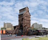 Walthers Cornerstone HO Scale Building/Structure Kit Wood Coaling Tower