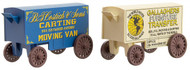 Micro-Trains MTL N-Scale Moving Van/Furniture Company Wagons 2-Pack