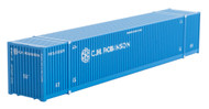 Micro-Trains MTL N-Scale 53ft Corrugated Container CH Robinson (Blue) #530705