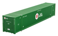 Micro-Trains MTL N-Scale 53ft Corrugated Container Hub Group (Green) #647942