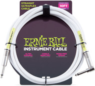 Ernie Ball 6049 Straight Ultraflex Sheilded Instrument Cable 10'