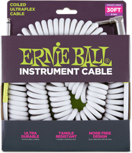 Ernie Ball 6045 Coil Ultraflex Sheilded Instrument Cable 30'