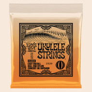 Ernie Ball P02329 Concert/Soprano Nylon Ball-End Ukulele Strings - Clear