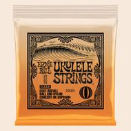Ernie Ball P02329 Concert/Soprano Nylon Ball-End Ukulele Strings - Clear