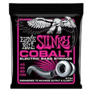 Ernie Ball P02734 Super Slinky Cobalt Electric Bass Strings - 45-100 Gauge