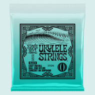 Ernie Ball P02326 Concert/Soprano Nylon Ball-End Ukulele Strings - Black