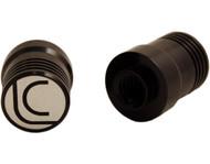 Lucasi JPA-LC Custom Uni-Loc® Quick Release Aluminum Joint Protectors - Black