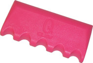 Q-Claw QCLAW Portable Pool/Billiards Cue Stick Holder/Rack - 5 Place - Pink