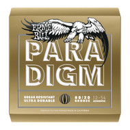 Ernie Ball Paradigm Bronze Medium Light Acoustic Guitar Strings 12-54 - 12 Packs