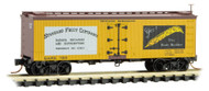 Micro-Trains MTL N-Scale 36ft Reefer Car April Fools 2019 Standard Fruit Co 7201