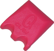 Q-Claw QCLAW Portable Pool/Billiards Cue Stick Holder/Rack - 2 Place - Pink