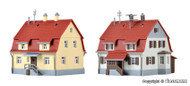 Kibri Z Scale Building/Structure Kit Settlement Houses/Homes from 1920s (2-pack)