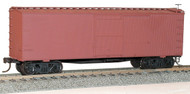 Accurail HO Scale Kit 36' Wood Boxcar/Steel Roof/Wood Ends - Undecorated