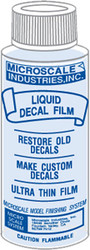Microscale Model Railroad/Train Decal Liquid Decal Film Restorer 1oz. Bottle