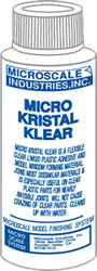 Microscale Model Railroad/Train Decal Micro Kristal Klear Adhesive 1oz. Bottle