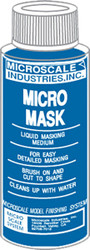 Microscale Model Railroad/Train Decal Micro Mask Liquid Masking Tape 1oz. Bottle