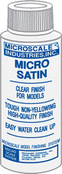 Microscale Model Railroad/Train Decal Micro Coat Satin Finish 1oz. Bottle