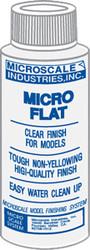 Microscale Model Railroad/Train Decal Micro Coat Flat Finish 1oz. Bottle