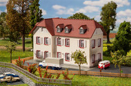 Faller N Scale Building/Structure Kit Two-Story Corner Apartment House/Home