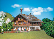 Faller N Scale Building/Structure Kit Large Alpine Farm House/Home w/ Bell Tower