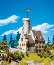 Faller N Scale Building/Structure Kit Classic Medieval Castle w/ Moat & Base