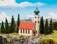 Faller N Scale Building/Structure Kit Village Church/Chapel/Onion Dome Steeple