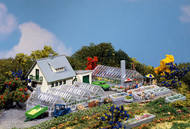 Faller N Scale Building/Structure Kit Garden Nursery House/2 Greenhouses