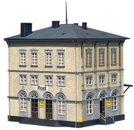 Faller HO Scale Building/Structure Kit 3-Story Post Office/Shipping Center