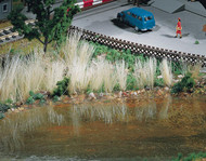 Faller Model Railroad/Train Layout Scenery Marsh Reeds (Tan) in Bunches