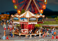 Faller HO Scale Building/Structure Kit Children's Merry Go Round Carnival Ride