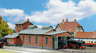 Faller N Scale Building/Structure Kit 2-Stall Engine House/Locomotive Shed