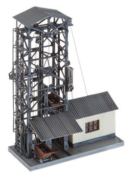 Faller HO Scale Building/Structure Kit Coal Lift for Steam Engines - Weathered