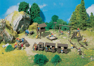 Faller N Scale Scenery Accessory Kit Adventure Playground Swings/Seesaw/Sandbox