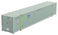 Micro-Trains MTL N-Scale 53ft Corrugated Shipping Container COFC/CFQU #618025