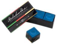 Balabushka Pool Billiard Cue Stick Chalk - 3 Piece/Box - Blue