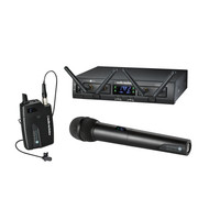 Audio-Technica ATW-1312/L System 10 Pro Lavalier & Hand Held Wireless Microphone