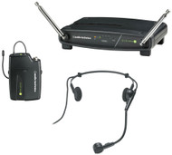 Audio-Technica ATW-901a/H System 9 VHF Wireless Headset Microphone Receiver Pack