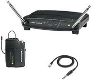 Audio-Technica ATW-901a/G System 9 VHF Guitar/Instrument Wireless Receiver Pack