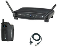 Audio-Technica ATW-1101/L System 10 Lavalier Wireless Microphone Receiver