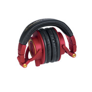 Audio-Technica ATH-M50xRD Professional Studio Monitor Headphones Red/Gold L.E.