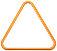 Plastic Pool/Billiard Table Standard 8 Ball Triangle Rack - Orange