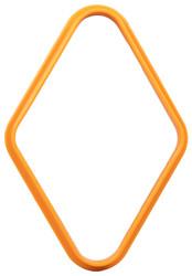 Plastic Pool/Billiard Table Standard 9 Ball Diamond Rack - Orange