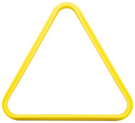 Plastic Pool/Billiard Table Standard 8 Ball Triangle Rack - Yellow
