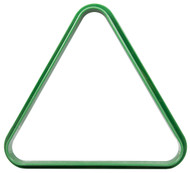 Plastic Pool/Billiard Table Standard 8 Ball Triangle Rack - Green