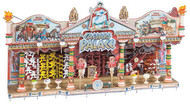 Faller HO Scale Building/Structure Kit Caesars Palace Ticket Booth Carnival Ride